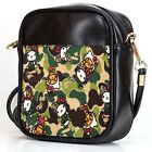 BAPE X HELL0 KITTY Sling Bag Crossbody Women Shoulder Casual Bags Leather