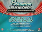 2014 Bowman Chrome Football Hobby 12 Box case - Garoppolo, Carr Rookies