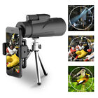 12X50 High Power BAK 4 Prism Monocular Telescope w Tripods and Smartphone Holder