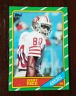 1986 Topps Jerry Rice RC Rookie NM MT to Mint HOF Grade Ready BGS PSA