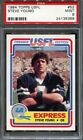 PSA 9 STEVE YOUNG 1984 TOPPS USFL #52 ROOKIE RC 49ERS HOF