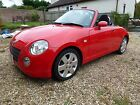 DHAIHATSU COPEN 066L TURBO FSH RED 2 DOOR CONVERTIBLE IN VERY GOOD CONDITION