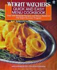 Weight Watchers Quick And Easy Menu C by Weight Watchers Paperback softback