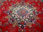 9X12 1940s GORGEOUS AUTHENTIC ANTQ HAND KNOTTED 70+YRS WOOL KHORASAN PERSIAN RUG