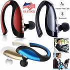 Bluetooth Headset Wireless Music Earphone HD Earpiece For iPhone Samsung LG Wiko