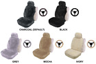 SINGLE 16mm SHEEPSKIN SEAT COVER PACK FOR PEUGEOT 5008 FWD MPV (PK 2)