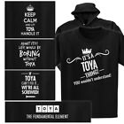 TOYA T-shirt or Hoodie - Keep Calm, Periodic Table, It's a thing, Fix