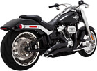 Vance  Hines Black Big Radius Exhaust System for 18 19 Harley Fat Boy Breakout