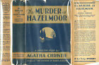 AGATHA CHRISTIE THE MURDER AT HAZELMOOR 1ST 1931 w DJ RARE HIGH GRADE