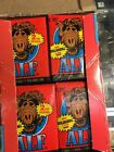 2 BOXES OF 48 ALF CARDS WITH BUBBLEGUM,1987,SERIES 2,96 PACKS,5 CARDS PER PACKS!