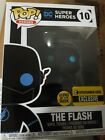 FUNKO POP DC Super Heroes THE FLASH Entertainment Earth EXCLUSIVE W Pop Protect