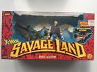 X Men Savage Land Angel  Sauron Action Figure 2 Pack Toy Biz