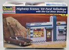 '69 Ford Talladega With Diorama Complete Unbuilt Plastic Model Kit Revell 1:24