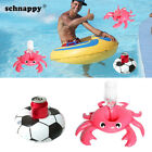 Swan Inflatable Drink Can Cup Holder Beach Baby Kids Girls Summer Floating Toys