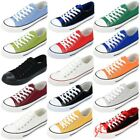 Mens Candy Colors Canvas Shoes Flat Oxfords Running Shoes Fashion Sport Sneakers