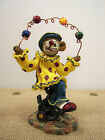 Boyds Bears & Friends Bearstone Gizmoe Clown Lifes A Juggle 2001 Special Edition