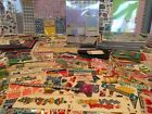 HUGE LOT 1200 packs sheets new scrapbooking stickers embellishments paper NEW
