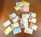 Lot of Approximately 300 Vintage Florist Enclosure Cards All Occasions