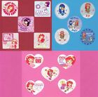 15 Strawberry Shortcake Assorted Large Stickers Party Favors Rewards