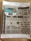 Fiskars Kids Birthday Clear Acrylic Stamps 45 Pieces NEW