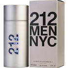 212 MEN NYC By Carolina Herrera 100ml / 3.4oz Eau de Toilette EDT For Men *NEW*