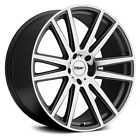 Audi S8 07 09 TSW GATSBY Wheels 20x10 +44 5x112 6656 Gunmetal Rims Set of 4