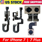 For iPhone 7 8 Plus Front Facing Camera  Back Rear Main Camera Lens Flex Cable