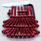 Pro-Bolt Aluminium Engine Bolt Kit - Red EKTM210R KTM 990 Supermoto 08-13
