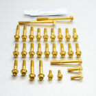 Pro-Bolt Aluminium Engine Bolt Kit - Gold ESU040HXRGE Suzuki GS500E 89-97