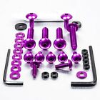 Pro-Bolt ALU Fairing Bolt Kit - Purple FOAP70P Aprilia Pegaso 650 Strada 05-09