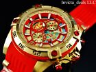 Invicta Marvel 52mm Bolt Viper Limited Ed IRON MAN Chronograph Red Dial Watch