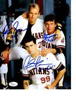 Charlie Sheen Signing Major League Autographs for 2014 Topps Archives Baseball 11