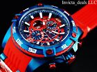 Invicta Marvel 52mm Bolt Viper Limited Ed SPIDER MAN Chronograph Red Dial Watch
