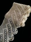 Antique Lace Flounce Trim Edging Crochet 4