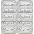 NEW! SilverTowne Money Bars 1oz .999 Silver Bar 10pc