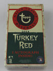 2014 Turkey Red Baseball Box 1 AUTO PER BOX! BRAND NEW & FACTORY SEALED!