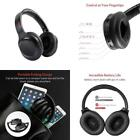 Wireless Headphone Active Noise Cancelling Foldable Playtime Bluetooth Head Set