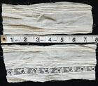 A12 Antique Edwardian Lace Tiny Pintucks Fabric Trim Sewing Doll Dolls Clothes