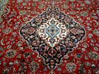 10X14 1960's EXQUISITE FINE HAND KNOTTED ANTIQUE WOOL KASHAN PERSIAN RUG CARPET