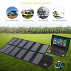 Solar Panel 80W Solar Panel Charger for Phones Laptop Tablets 5v 12v 18v Battery