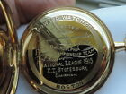 HOWARD POCKET WATCH 1915 PHILLIES NL CHAMPIONSHIP PRESENTED TO BEN TINCUP 14K