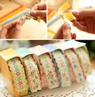 Floral Sticker Tape Retro Pastoral Stationery Craft Paper DIY Diary 1pc