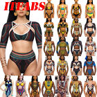 ITFAB Women Push-up Padded Bandage Bikini Set Swimsuit Swimwear Bathing Monokini