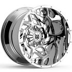 20 x10 Dropstars DS652V Chrome 5x55 5x150 25 ET 652V 2105225 Rims Wheels