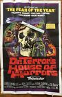 1964 Original One Sheet DR TERRORS HOUSE OF HORRORS