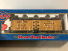 Atlas O 8096 2 Red Top Milk 40 Wood Reefer Car 14206 3 Rail Mint in Box