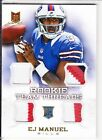 EJ Manuel Signs Exclusive Autographed Memorabilia Deal with Panini Authentic 12