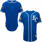 Kansas City Royals Majestic Authentic Cool Base Jersey with 2015 World Series