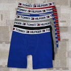 5 Pack Mens TOMMY HILFIGER  Cotton Fly Long Leg Midway Boxer Brief Trunk L 2XL