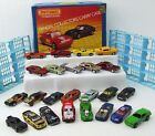Vintage Matchbox Carry Case 24 Mixed Lot Die Cast Cars Hot Wheels 80+ Pictures